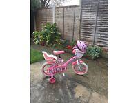 "Hello Kitty kids 14"" Bike & Accessories"