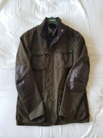 Barbour Ogston Waxed Jacket - Like New