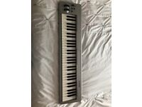 M_audio keystaion 61 midi keyboard