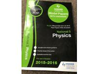 Model papers and answers for Physics