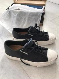 Converse JP black leather sneakers