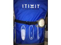 ITWIT STAND UP PADDLE BOARD 10'7