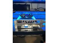 MSI NVIDIA GEFORCE GT740 1GB PCI-E Graphics Card DVI VGA HDMI