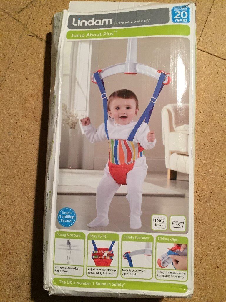 Lindam baby door bouncer in southampton hampshire gumtree for Door jumperoo