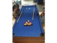 Games table - air hockey, football, pool, table tennis
