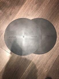 TECHNICS original Rubber Matts for SL-1200 & 1210