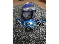 Kids bike/quad crash helmet