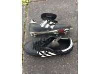 Perfect pair of leather Adidas world cup football boots, size 5 1/2, Great condition.