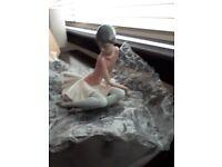 "Lladro #1357 ""SHELLEY"" Ballet Dancer Ballerina w/Pink Top."