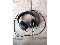 Skullcandy On-Ear Headphones - Dark Grey & Mint Green