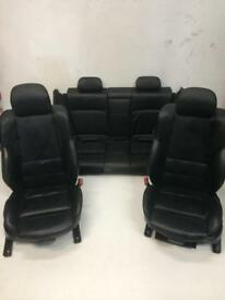 Bmw E46 Msport Coupe Black Leather Seats 2004