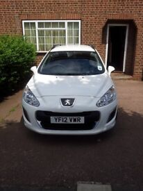 2012 Peugeot 308 1.6HDI SW **** ONLY 32200 MILES FROM NEW **** One owner-Full Service History
