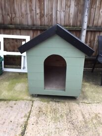 A very well made new large dog kennel