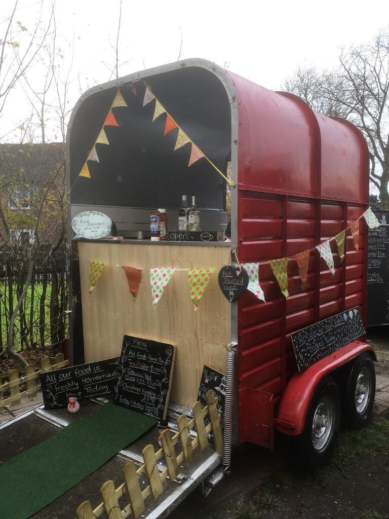 Catering trailer/classic rice horse trailer conversion/coffee/Xmas market/bar