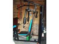 Men's health elite active + weight bench 90 kilo good condition