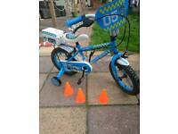 Starter police bike as new condition hardly been used super little bike 14 inch wheels