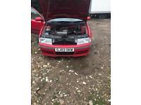 skoda octavia 1.8t spares or repairs breaking full car