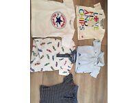 Boys T-shirts - Converse, Monsoon, Jasper Conran, Next & Fish & Chips
