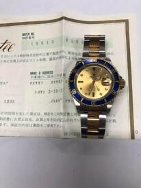 Rare Rolex submariner bi metal