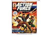 Comic book Action force