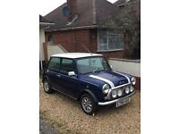 1988 Austin mini Tahiti blue NEW MOT