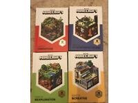 Minecraft Books Set of 4