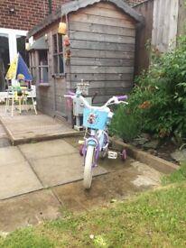 Girls Disney Frozen Bike