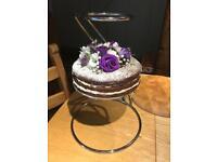 Floating 3-tier cake stand. Wedding Birthday
