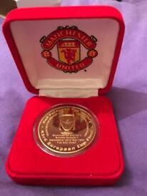 Manchester United European Medal