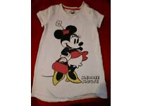 Girls Minnie mouse long top