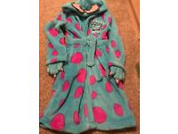 Disney Store monsters university dressing gown age 7-8 years