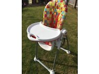 Mothercare Fruity Highchair