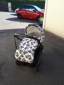 OYSTER PUSHCHAIR/PRAM/CARRYCOT