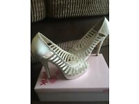 Ivory diamontie shoes
