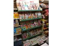 Retail Magazine Shelving