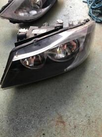 Halogen bmw e90 headlights