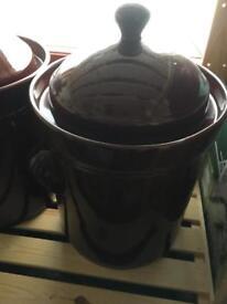 Fermentation crock pot
