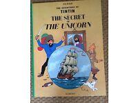 2 Tintin books