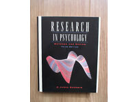 Research in psychology by C Goodwin - hard back