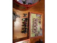 Lots of Warhammer figures and book