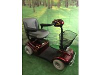 Electric Mobility Rascal 388 EM 388EM MOBILITY Scooter 4mph Red