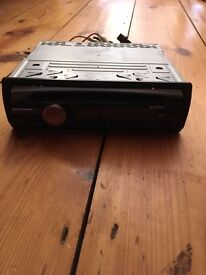 Sony CDX-GT450U CD/MP3 Player Front USB For Sale