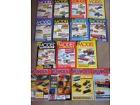 15 MODEL COLLECTOR & DIE-CAST COLLECTORS MAGAZINES X 15 1990's-2000 - USED - COLLECT ONLY BENFLEET