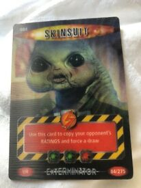 Dr Who Battles in time 084 rare card Skinsuit