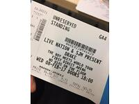 Standing ticket Drake Leeds 8th February