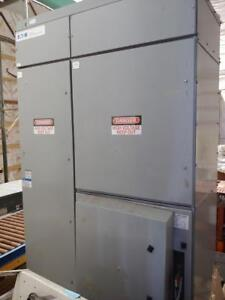 Eaton Cutler Hammer 5 KV Rated Cabinet with 400 HP Full Voltage Ampgard starter installed