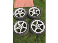 "Vauxhall Astra 06/mk 5 18"" Alloys"