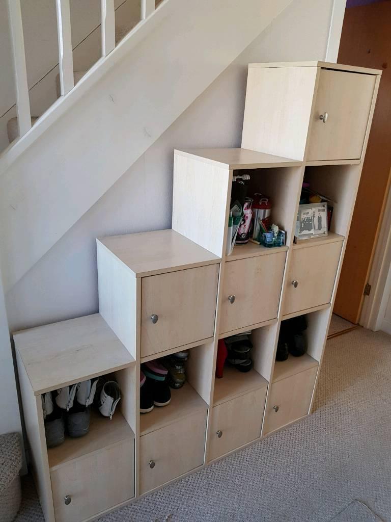 Understairs storage unit