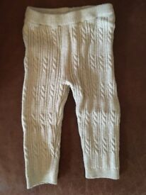 Tu clothing footless tights. Age3-6 months