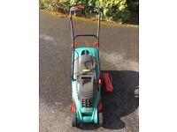 Bosch Rotak 34 electric lawnmower
